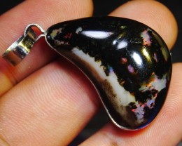 39.60 Ct HUGE Beautiful Pendant Indonesian Wood Fossil Opal Polished
