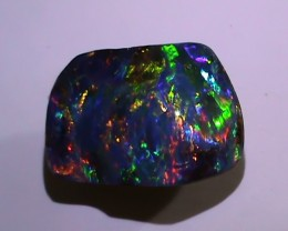 8.30 ct Gem Bright Rainbow Queensland Boulder Opal