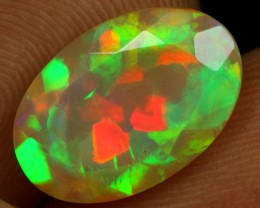 FREE SHIPPING 3.25cts TOP NOTCH 3D FLAGSTONE PATTERN Natural Eth Welo Opal