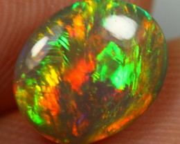 Christmas Sales 2.40cts ROLLING FLASH Natural Untreated Ethiopian Welo Opal