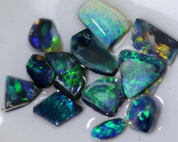 18.25  CTS DARK OPAL ROUGH PARCEL DT-7588