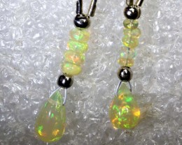 5.4 CTS ETHIOPIAN OPAL EARRING PAIR FOB-1213