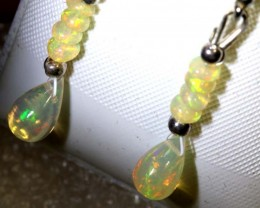 6 CTS ETHIOPIAN OPAL EARRING PAIR FOB-1219
