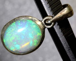 6.3 CTS ETHIOPIAN OPAL SILVER PENDANT FOB-1232