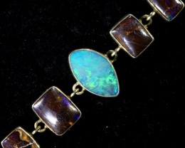 128.20 CTS OPAL BRACELET   -ADJUSTABLE SOJ6088