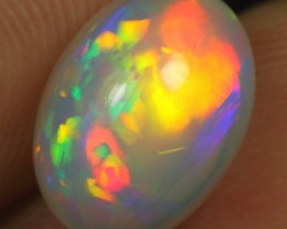 3.70cts AAA Fire Floral Pattern Ethiopian Opal