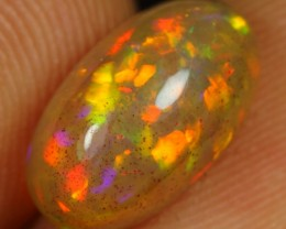 2.60cts Dazzled Fire Floral Ethiopian Opal