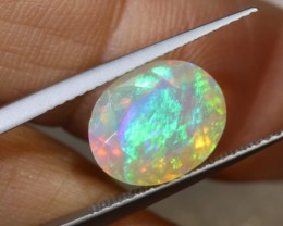 3 CTS ETHIOPIAN WELO FACETED OPAL STONE FOB-1237