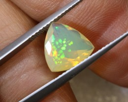 2.9 CTS ETHIOPIAN WELO FACETED OPAL STONE FOB-1241
