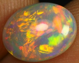 Free Shipping 1.85cts Top Notch Chaff Patchwork Ethiopian Opal
