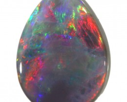 5.30 CTS SEMI BLACK OPAL LIGHTNING RIDGE [LRO101]SAFE