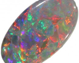 2.00 CTS SEMI BLACK OPAL LIGHTNING RIDGE [LRO102]SAFE