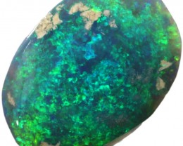 13.90 CTS BLACK  OPAL ROUGH  -RUBBED/FACED [BR5800]SAFE
