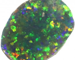 4.20 CTS BLACK  OPAL ROUGH  -RUBBED/FACED [BR5802]SAFE