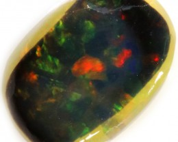 2.50 CTS BLACK  OPAL ROUGH  -RUBBED/FACED [BR5808]SAFE