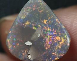 Lightning Ridge Solid Semi Black Opal Stone 2.37ct