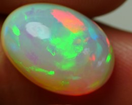 6.45 CRT GORGEOUS HOLOGRAM FLAGSTONE PATTERN MULTICOLOR WELO OPAL