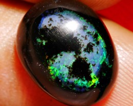 5.70 CRT NUMBER 6 PATTERN WITH GREENISH COLOR INDONESIAN WOOD FOSSIL OPAL