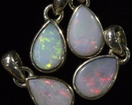 19.85 CTS CRYSTAL OPAL PENDANT PARCEL FROM LIGHTNING RIDGE [SOJ6099]