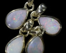 19.50 CTS CRYSTAL OPAL PENDANT PARCEL FROM LIGHTNING RIDGE [SOJ6100]