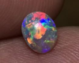 0.55ct Lightning Ridge Gem Crystal Opal LRS095