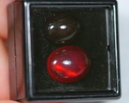 NR~  6.65Ct 13x10mm , 14x11mm Ethiopian Welo Smoked Polished Opal
