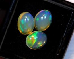 NR Auction ~ 3.55ct Oval 9x7mm Welo Opal Parcel Lot