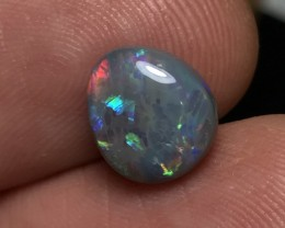2.53ct Lightning Ridge Gem Dark Opal LRS101