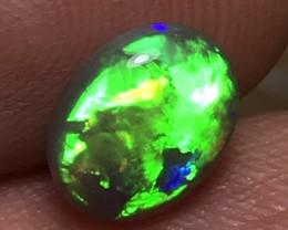 1.42ct Lightning Ridge Gem Crystal Opal LRS094