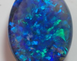 4.60CT SOLID LIGHTNING RIDGE BLACK OPAL  TO267