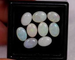 NR~  4.53ct Oval 7x5mm Coober Pedy Opal Parcel Lot