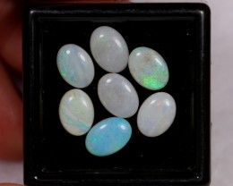 NR~  4.27ct Oval 7x5mm Coober Pedy Opal Parcel Lot