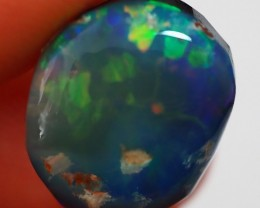 7.60 CT VIEW ROUGH FOR CARVING BLACK OPAL  TO282