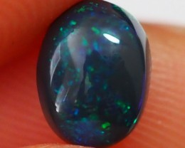 1.30CT SOLID LIGHTNING RIDGE BLACK OPAL  TO289