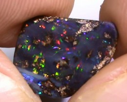 2.35 ct Boulder Opal With Beautiful Multi Color