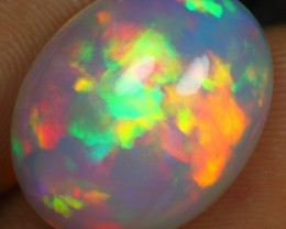 Christmas Sales AAA 6.50cts FIRE FLORAL Natural Ethiopian Welo Opal