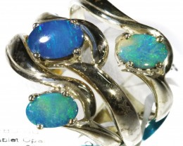 Three Cute Boublet Opal Rings CF1684