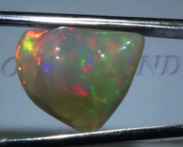 9.25 ct Ethiopian Gem Color Carved Freeform Welo Opal