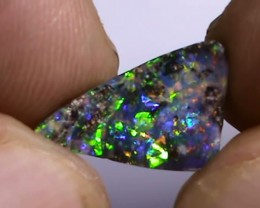 1.65 ct Boulder Opal With Gem Multi Color