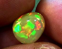 4.85 cts Ethiopian Welo HONEYCOMB PINFIRE opal N6 4,5/5