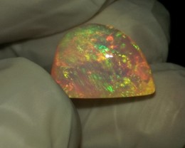 Very Very Saturated Blue Crystal Welo Opal
