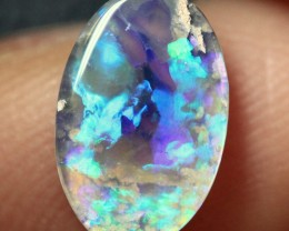 Lightning Ridge Solid Crystal Opal Stone 1.15ct