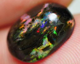 2.80 CRT BEAUTY BRIGHT POLISHED WOOD FOSSIL INDONESIAN OPAL