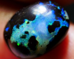 3.35 CRT STUNNING BRIGHT POLISHED WOOD FOSSIL INDONESIAN OPAL