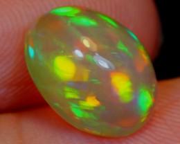 NR#  1.93Ct Neon Color Play Ethiopian Welo Opal