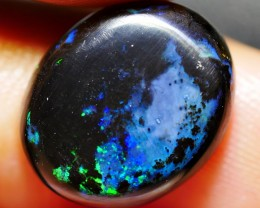 4.85 CRT BLUE BASE PERFECT POLISHED WOOD FOSSIL INDONESIAN OPAL