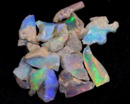 NR#  27Ct Ethiopian Welo Rough Opal Parcel