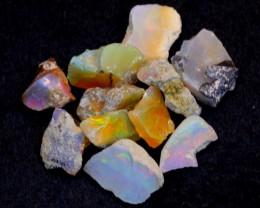 NR#  33Ct Ethiopian Welo Rough Opal Parcel