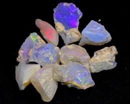 NR#  32Ct Ethiopian Welo Rough Opal Parcel