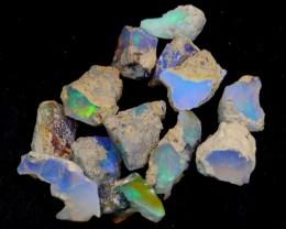NR#  29Ct Ethiopian Welo Rough Opal Parcel